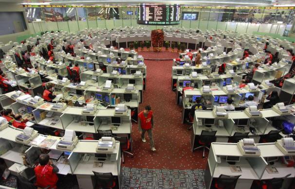 El índice Hang Seng sube 258,26 puntos, 1,27% en la apertura,, hasta 20.657,83