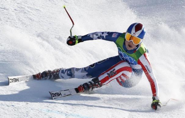 Linsdey Vonn se retira del eslalon y se va con dos medallas como botín