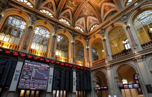 La Bolsa española rebota en la apertura y el Ibex sube el 1,16 por ciento