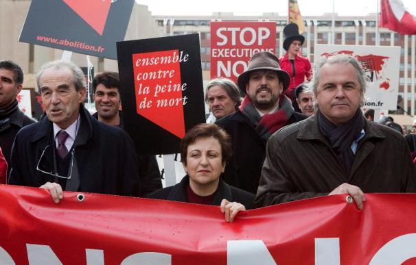 Los abolicionistas de la pena de muerte culminan su congreso manifestándose ante la ONU