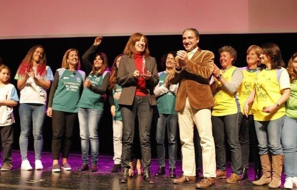 La Diputación reconoce a una veintena de mujeres y entidades por su labor a favor de la igualdad de género