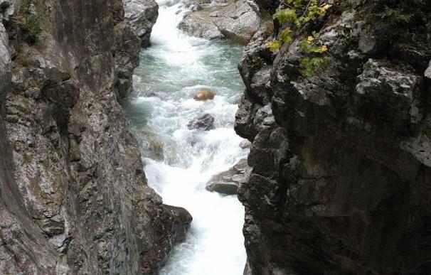Muere una mujer que se cayó al río Bellos en Fanlo, en Huesca