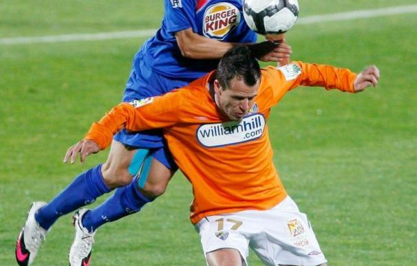 Cortés dice que se va con la pena de no haberse despedido de los aficionados del Getafe