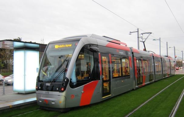 Los usuarios puntúan el servicio del tranvía con un 8 sobre 10