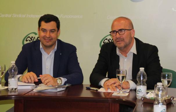 """Moreno denuncia la """"expulsión"""" de 17.000 trabajadores públicos y pide recuperar empleos y derechos"""