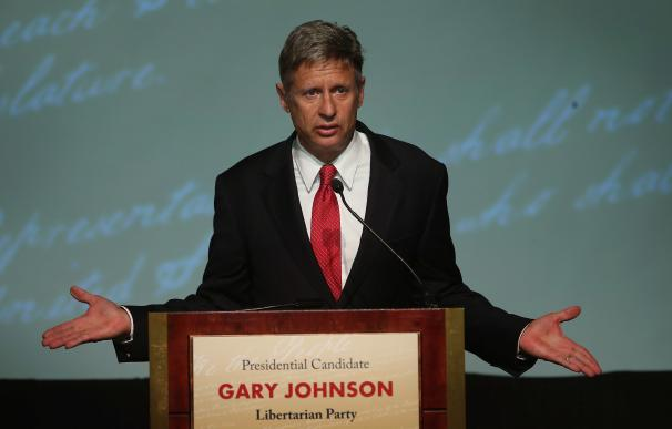 ¿Será Gary Johnson la sorpresa de la campaña electoral estadounidense?