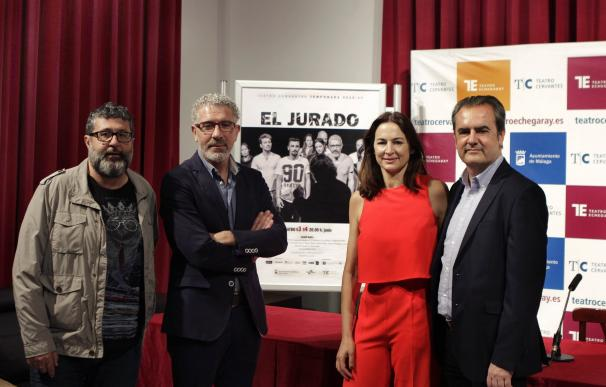 'El jurado' reflexiona en el Teatro Cervantes sobre la justicia y la corrupción
