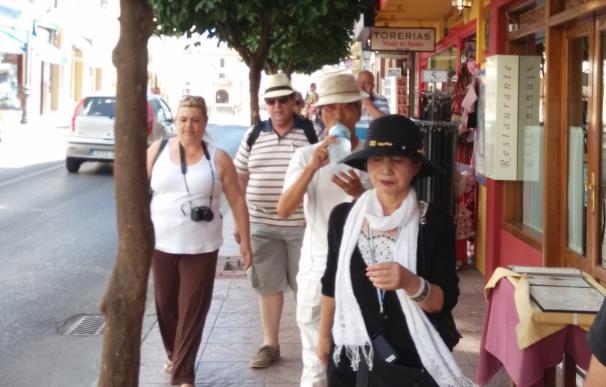 Andalucía recibió cerca de 2,7 millones de turistas internacionales hasta abril, un 20,7% más