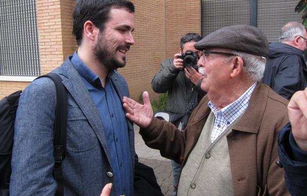 """Garzón se siente avalado por la militancia para poner en marcha la """"renovación"""" de IU y su proyecto político"""