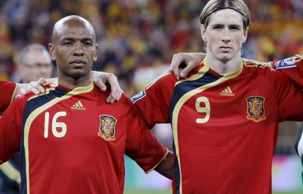 Torres y Senna vuelven a la selección para el amistoso contra Francia
