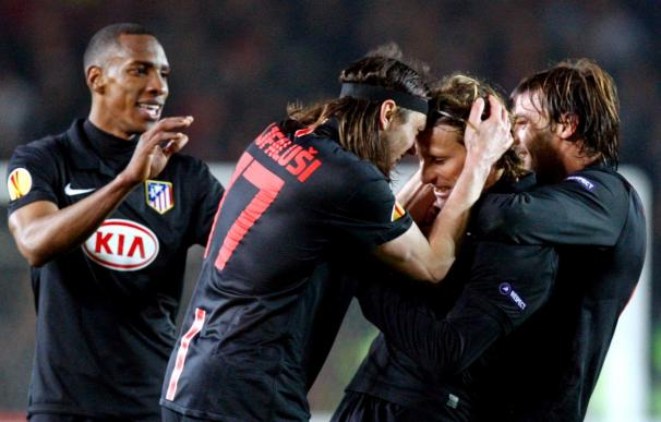 El Atlético rompe su peor racha sin ganar en Europa