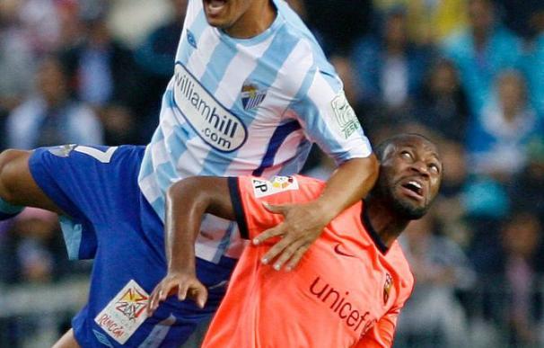 El Barça con dudas en su juego recibe al mejor Málaga del año