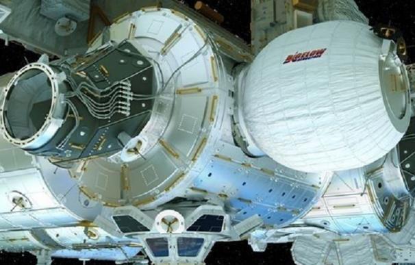 La Estación Espacial luce su primer hábitat hinchable