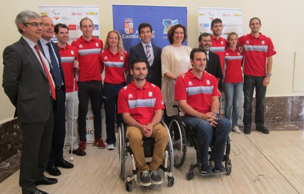 García Cirac destaca el ejemplo de los diez deportistas paralímpicos preseleccionados para los juegos