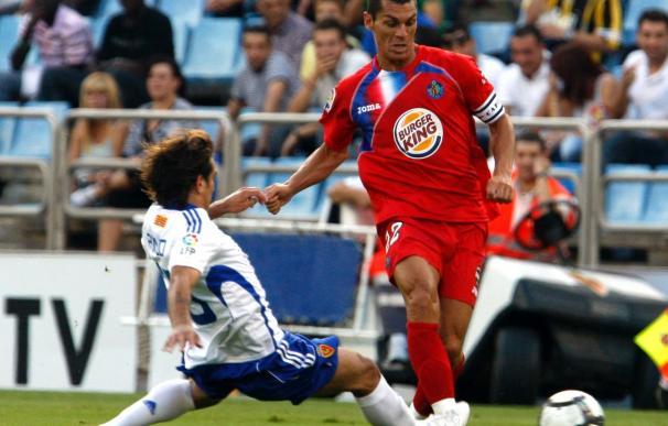 El Zaragoza, en Primera, no sabe ganar al Getafe en el Coliseum