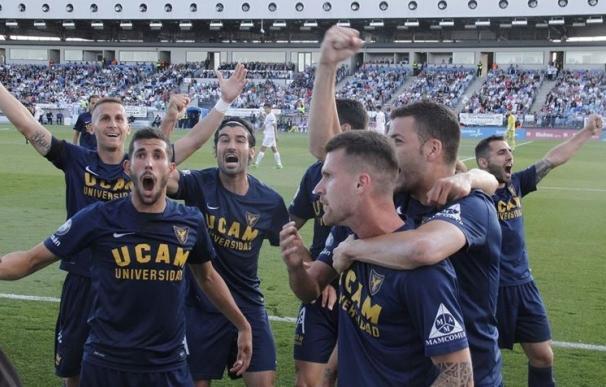 El UCAM Murcia puede con el Castilla y asciende a Segunda División