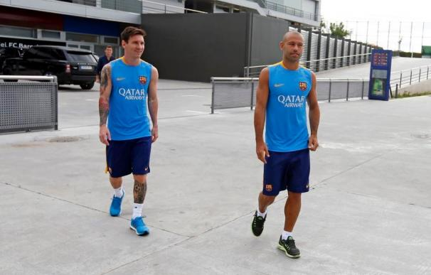 Messi y Mascherano acortan sus vacaciones voluntariamente