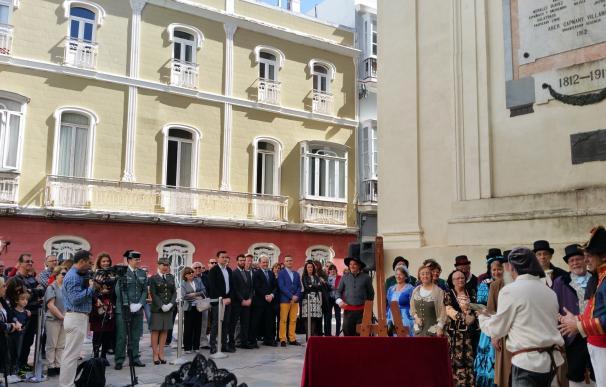 El Ayuntamiento rinde homenaje a las Cortes de Cádiz con motivo del 205 aniversario de la Constitución de 1812