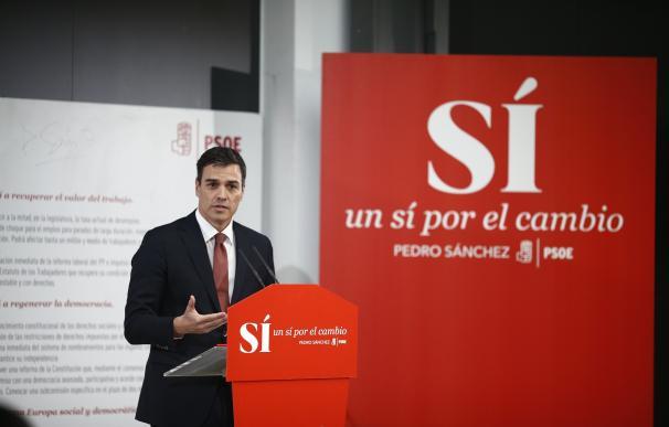 Pedro Sánchez se compromete a someterse en dos años a una cuestión de confianza si es elegido presidente