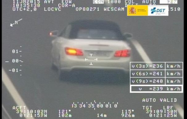 Un total de 473 vehículos han sido denunciados en La Rioja durante la última campaña de control de velocidad de la DGT