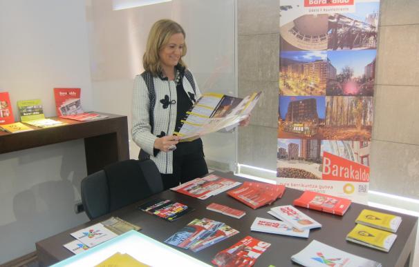 La oficina de Turismo de Barakaldo de BEC estrena nueva imagen y repartirá 25.000 folletos con información de la ciudad
