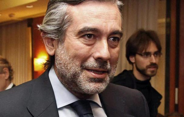 El exmagistrado del Constitucional Enrique López ha vuelto hoy a la Audiencia Nacional