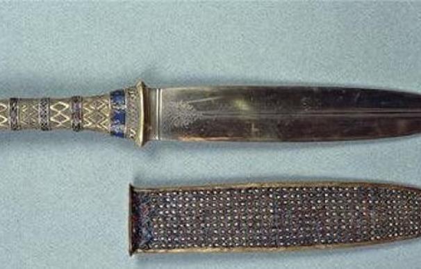 El hierro del puñal de Tutankamón proviene ¡del espacio!