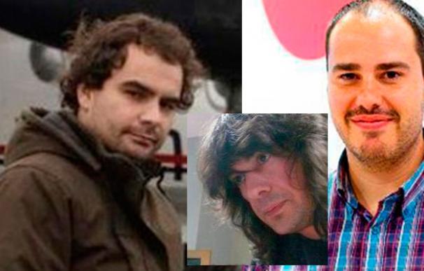 Los tres periodistas españoles que habían sido secuestrados en Siria