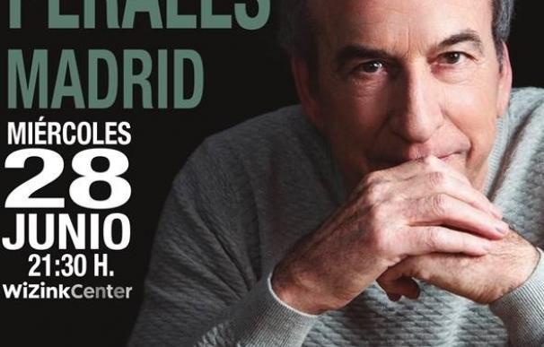 José Luis Perales actuará el 28 de junio en el WiZink Center de Madrid