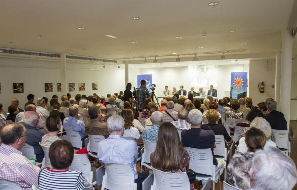 La Diputación acerca a los vecinos del casco histórico el proyecto del Hospital Provincial