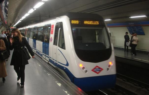 Tranquilidad en las primeras horas de huelga en el Metro de Madrid