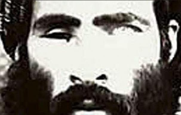 Una de las escasas imágenes que se conocen del mulá Omar