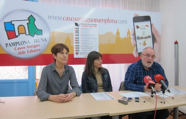 Doce librerías participarán desde este viernes en la XV Feria del Libro de Pamplona con un descuento del 10%