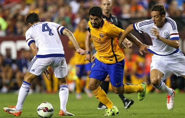 LANDOVER, MD - JULY 28: Luis Suarez #9 of Barcelon