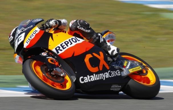 Marc Márquez se apunta su primera 'pole' del curso en Moto2