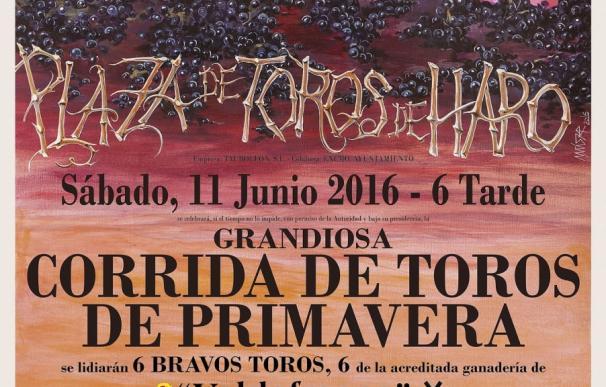 El Centro Riojano de Madrid acoge una exposición sobre motivos taurinos de José Uriszar