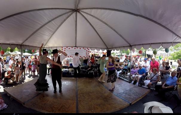 Una empresa americana acerca la 'Feria de Sevilla' de Washington DC a través de la Realidad Virtual