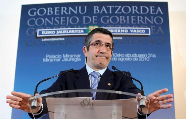 López cree que puede haber una negociación feliz entre el Gobierno central y el PNV