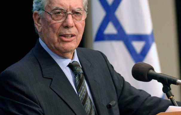 Vargas Llosa cree imposible un acuerdo de paz bajo el gobierno de Netanyahu