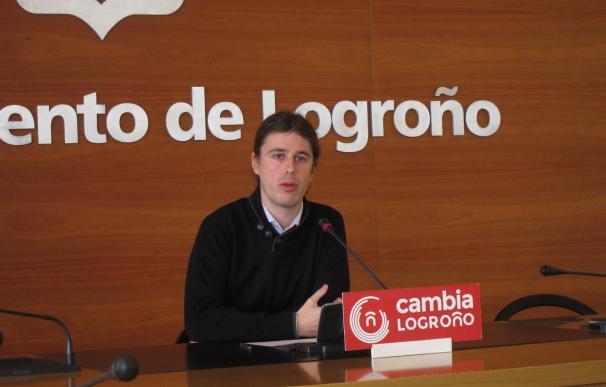 """Cambia Logroño califica el superávit 2016 en el Ayuntamiento como """"una pura falacia"""""""