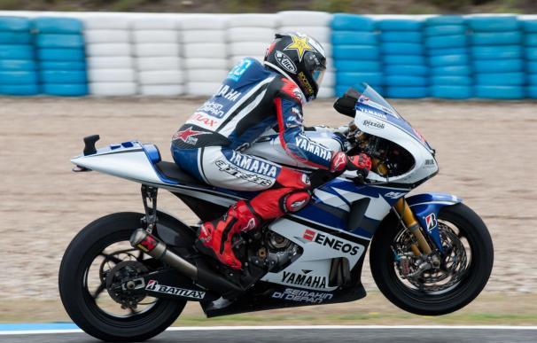 Jorge Lorenzo, 'pole' en MotoGp en Jerez