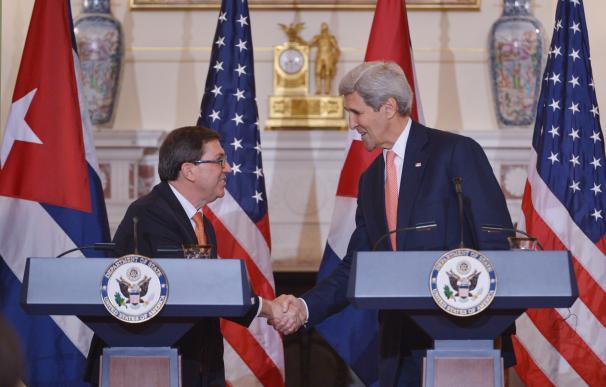 """Kerry y Rodríguez evidencian el interés de EEUU y Cuba por trabajar como """"buenos vecinos"""""""