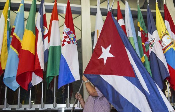 Cuba y EEUU restablecen sus relaciones diplomáticas después de 54 años. Foto: AFP