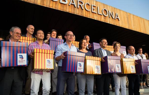 Bartomeu, Laporta, Benedito, Freixa y Seguiment, candidatos a presidir el Barcelona