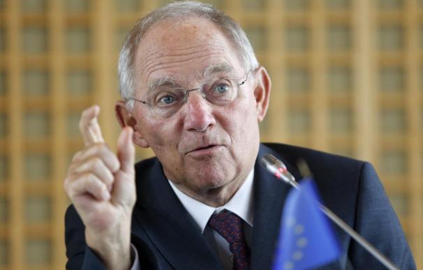 Schäuble afirma que los acuerdos y normas en la zona del euro deben cumplirse