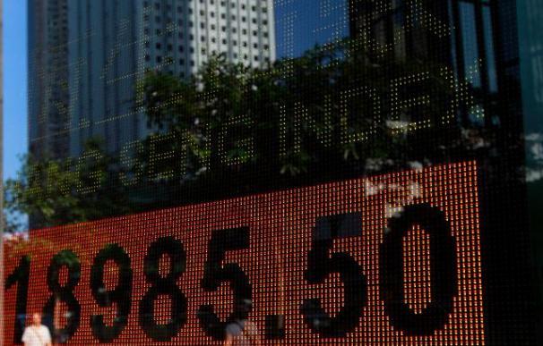 Hang Seng abre con pérdidas del 0,57 por ciento, hasta los 20.615,92 puntos