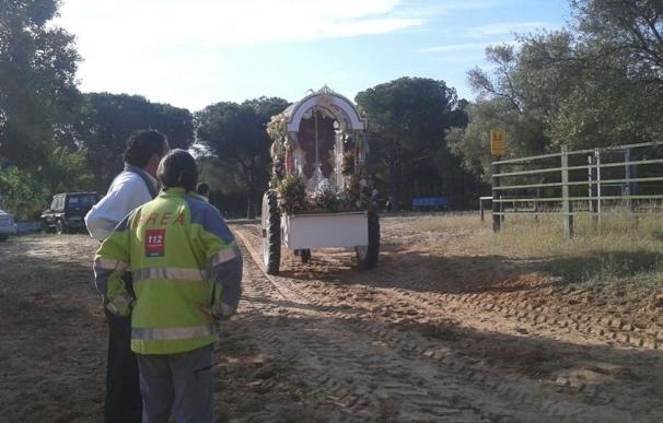 Las hermandades de Cádiz comienzan a cruzar este miércoles el paso de Bajo de Guía en Sanlúcar de Barrameda