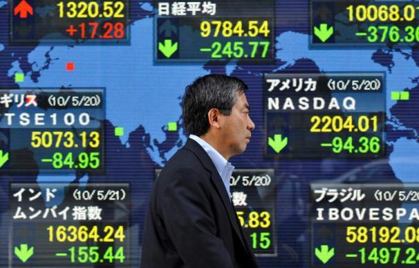 El Nikkei recupera los 9.500 puntos por la recogida de beneficios