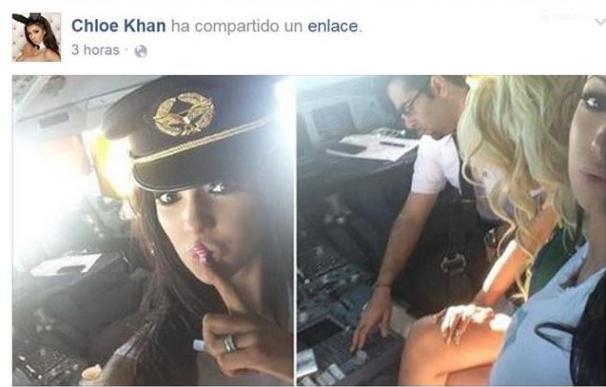 Kuwait investiga a un piloto por invitar a la cabina del avión a una 'chica Playboy'