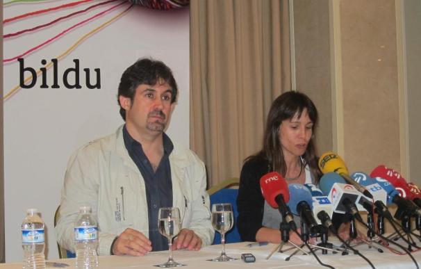 Bildu pide la legalización de Sortu